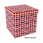 Ottoman - Warm Flower and Other Patterns