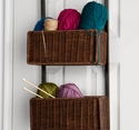 Over-the-Door 3-Tier Basket Storage