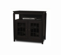"TechCraft  32"" WideTall Boy TV Stand -  Black - BAY3232B"
