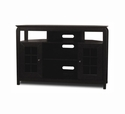 "TechCraft BAY4632B - 46"" Wide Black Tall Boy Credenza"