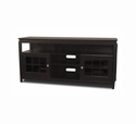 "TechCraft BAY6028B - 60"" Wide Black Hi-Boy TV Stand"