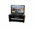 "Techcraft WEDG48 - 50"" Walnut Flat Panel Television Stand"