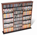 Triple Width Shelves for CD's DVD's & Games - Prepac MA-0960
