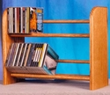 Wood Shed 201-L - Solid Wood - CD Storage Racks