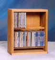 Wood Shed 206-12 - Desktop CD Rack
