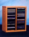 Wood Shed 209-1 - Easy Access - Tabletop CD Rack