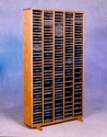 Wood Shed 509-4 -  Easy Access Solid Wood CD Tower-Mega