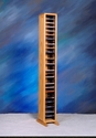 WoodShed 109-4 - Easy Access - Solid Wood - CD Tower