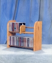 WoodShed 201 - Solid Wood - CD Storage Racks