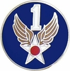 1st Air Force Pin