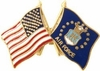 Air Force Flags Pin (Old)
