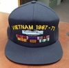 Custom Embroidered Military Hats with Ribbons