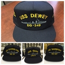 Custom Embroidered U.S. Navy Ship's Cap