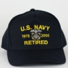 Navy Custom Hats