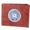 Leather Wallet Coast Guard - Brown