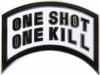One Shot One Kill Pin