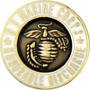 U.S. Marine Corps Honorable Discharge Lapel Pin