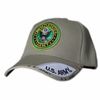 US ARMY ROUND LOGO KHAKI SHADOW HAT