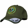 US ARMY ROUND LOGO OLIVE GREEN SHADOW HAT