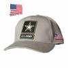 US ARMY STAR LOGO KHAKI MADE IN USA HAT