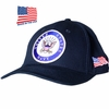 US Navy Round Logo Made In USA Hat