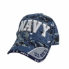 US Navy Text Digital Pixel Hat