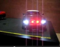 Diecast Police -  Lights - Siren