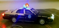HO Police Lights