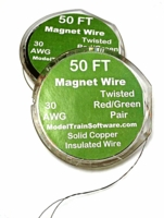 Magnet Wire Twisted 50 ft spool