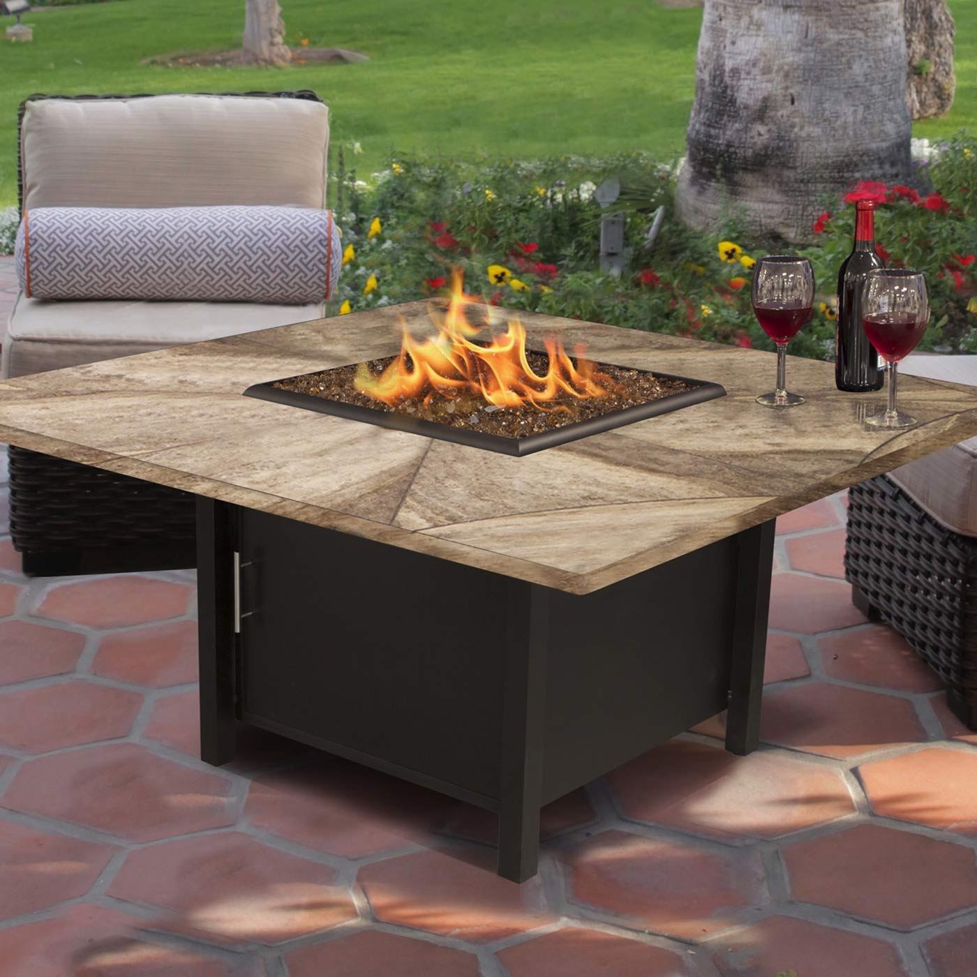california outdoor concepts carmel 42 inch chat height square fire rh simplypatiofurniture com bo concepts outdoor furniture seasonal concepts outdoor furniture