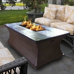California Outdoor Concepts Monterey Fire Pit Coffee Table