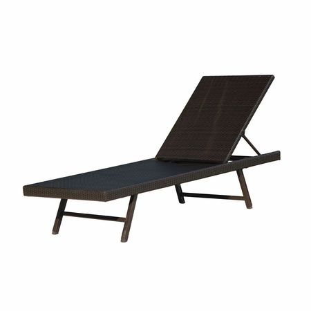 Hanover Orleans Wicker Chaise Lounge
