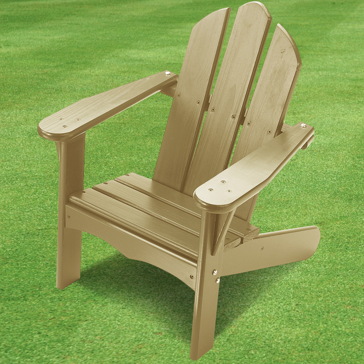 Attractive Little Colorado Childu0027s Adirondack Chair In Unfinished Wood