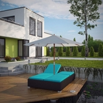 Modway Arrival Outdoor Patio Chaise