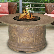 Palm Fire Pit Collection