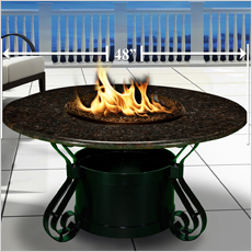 Solano Fire Pit Collection