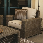Sunset West Coronado Club Chair with Cushions in Driftwood