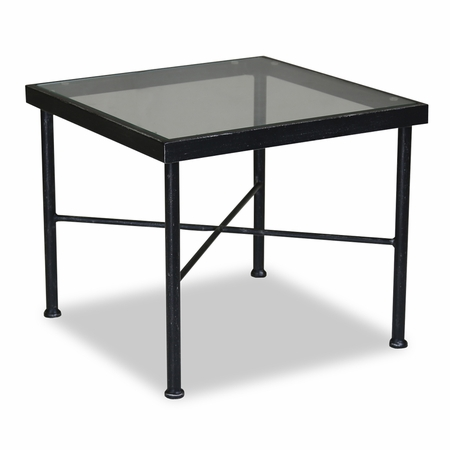 Sunset West Provence End Table in Century Pewter