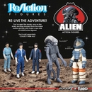 Alien ReAction Figure set of 5