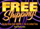 Free Shipping on all orders over $49.99
