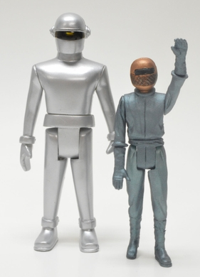 Gort and Klaatu Retro Set