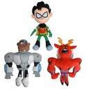 Teen Titans 6in Plush Set