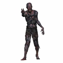 Walking Dead Charred Walker