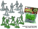 Zombies at War Army Men Bag