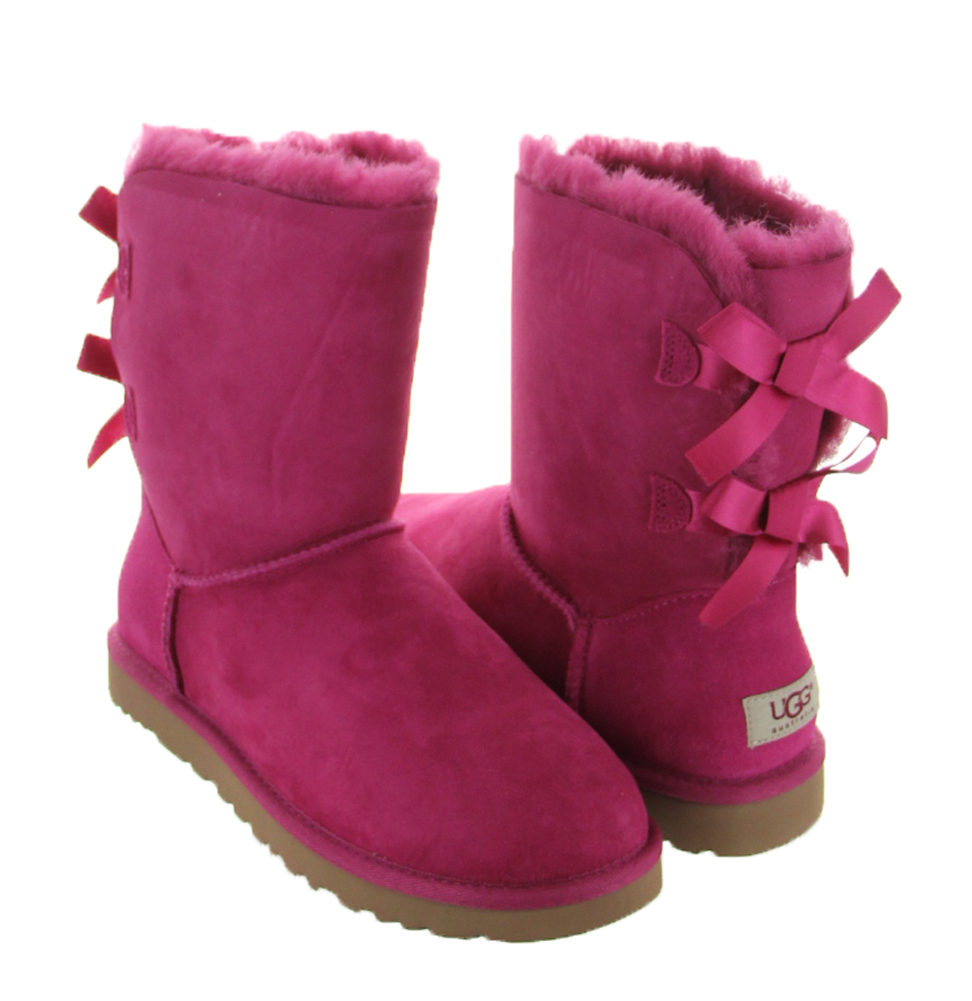 red plum bailey bow uggs