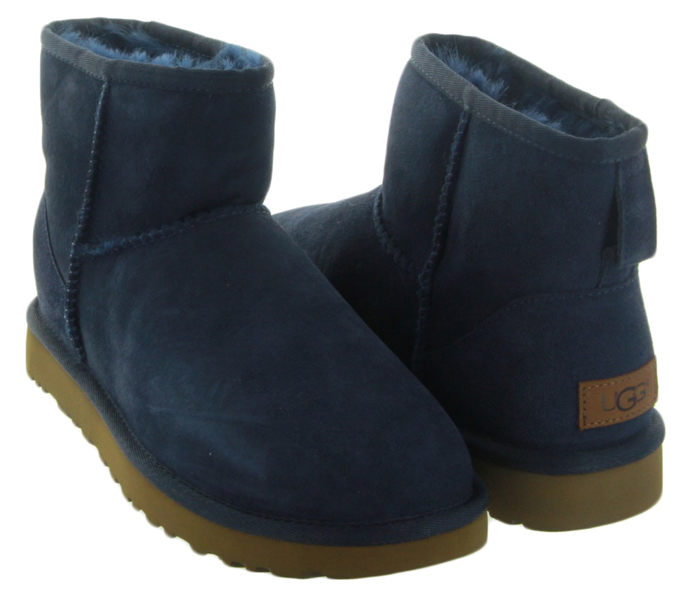 uggs navy mini