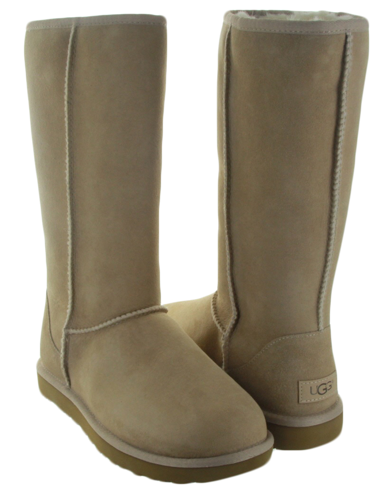 uggs womens classic tall sand