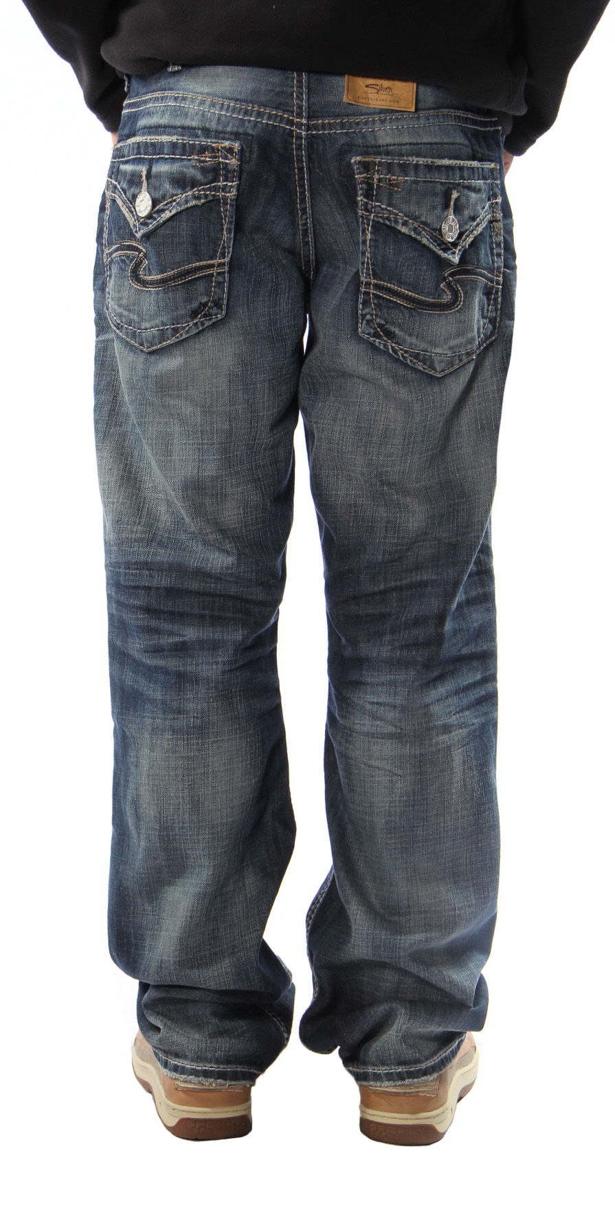 Gordie in Indigo by Silver Jeans - Men&39s Silver Jeans – Mens