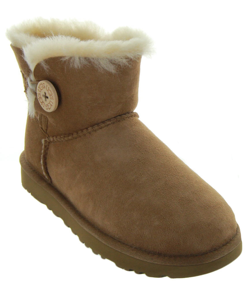 19a77e5fe21 Womens Ugg Australia Chestnut Bailey Button Boots - cheap watches ...