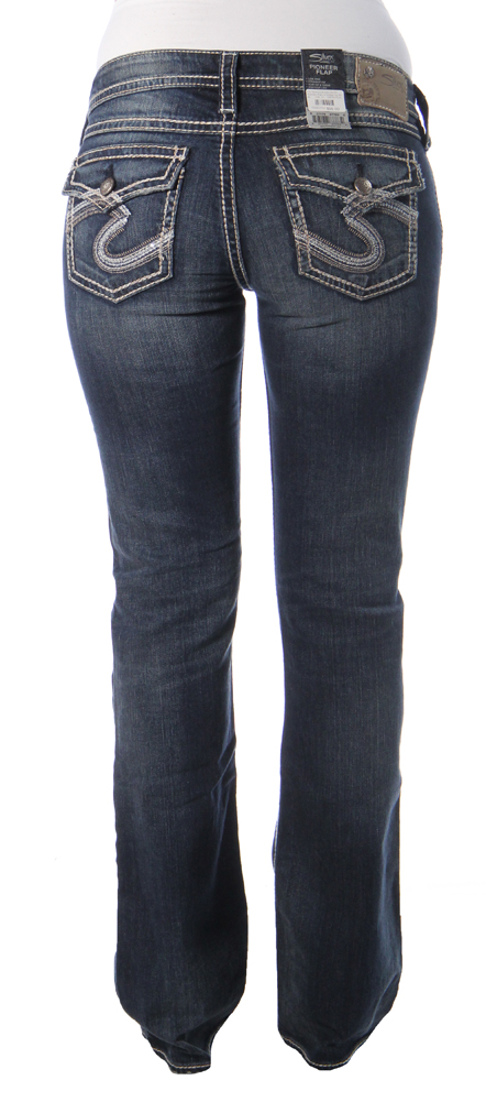 Pioneer Flap in Indigo by Silver Jeans Co - Silver Jeans - Women's
